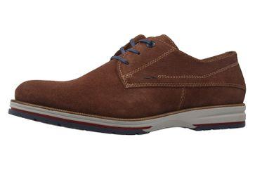 FRETZ MEN - Herren Halbschuhe - Steven - Braun Schuhe in Übergrößen