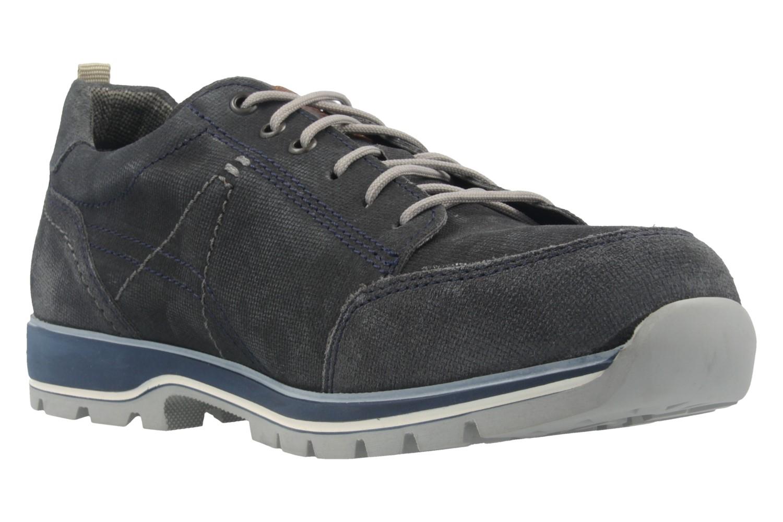FRETZ MEN - Herren Halbschuhe - Walk - Grau Schuhe in Übergrößen – Bild 5