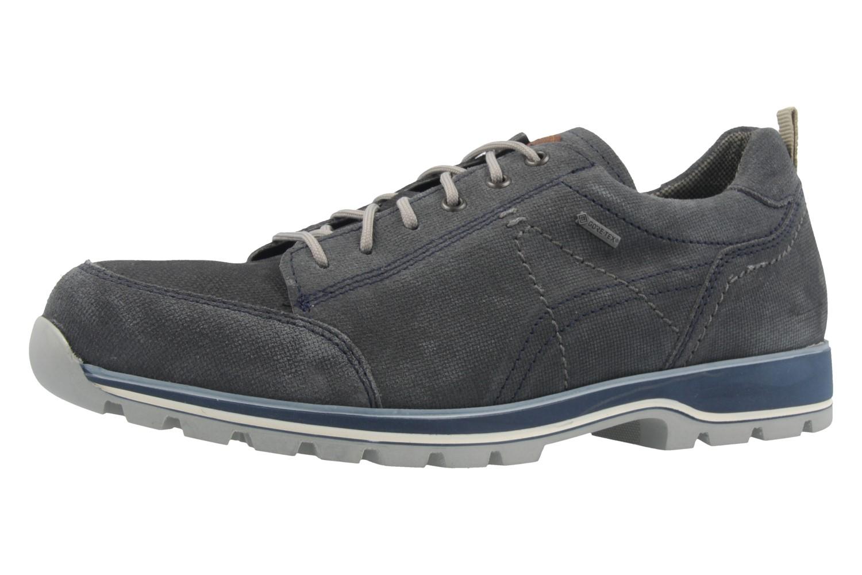 FRETZ MEN - Herren Halbschuhe - Walk - Grau Schuhe in Übergrößen – Bild 1