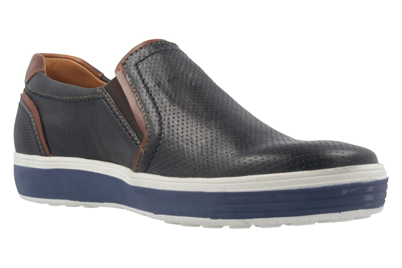 FRETZ MEN - Herren Slipper - Scorpion - Blau Schuhe in Übergrößen – Bild 5