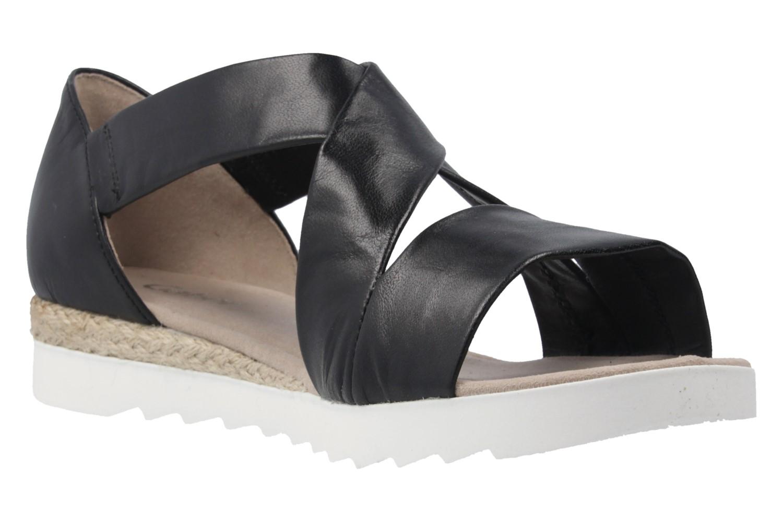 Gabor Sandalen in Übergrößen Schwarz 62.711.27 große Damenschuhe – Bild 5