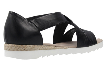 Gabor Sandalen in Übergrößen Schwarz 62.711.27 große Damenschuhe – Bild 3