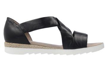 Gabor Sandalen in Übergrößen Schwarz 62.711.27 große Damenschuhe – Bild 4