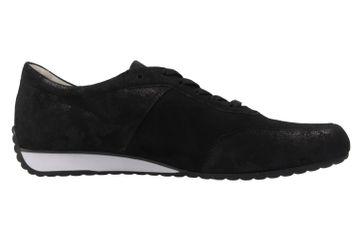 GABOR comfort - Damen Halbschuhe - Schwarz Metallic Schuhe in Übergrößen – Bild 4