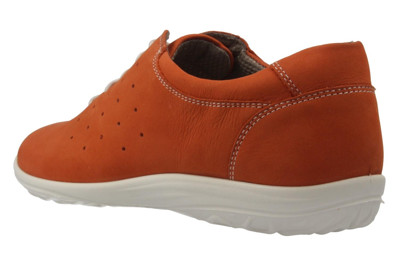 JOMOS - Damen Halbschuhe - Orange Schuhe in Übergrößen – Bild 2