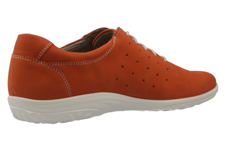 JOMOS - Damen Halbschuhe - Orange Schuhe in Übergrößen – Bild 3