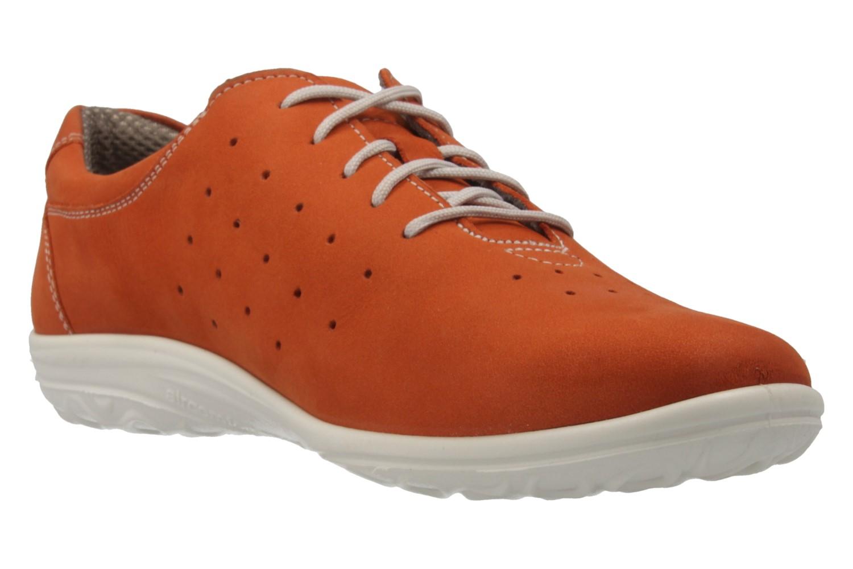 JOMOS - Damen Halbschuhe - Orange Schuhe in Übergrößen – Bild 4