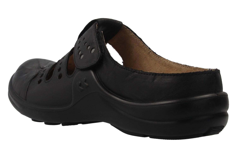 Romika Clogs in Übergrößen Schwarz 10220 24 100 große Damenschuhe – Bild 2