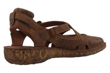 Josef Seibel Rosalie 13 Sandalen in Übergrößen Braun 79513 95 320 große Damenschuhe – Bild 3