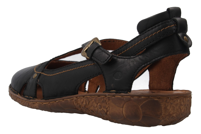 Josef Seibel Rosalie 13 Sandalen in Übergrößen Schwarz 79513 95 100 große Damenschuhe – Bild 2