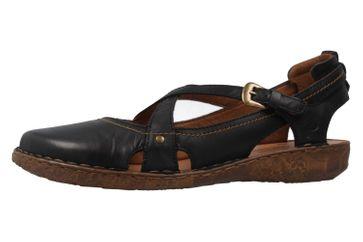 Josef Seibel Rosalie 13 Sandalen in Übergrößen Schwarz 79513 95 100 große Damenschuhe – Bild 1