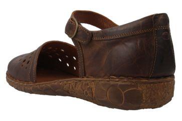 Josef Seibel Rosalie 19 Sandalen in Übergrößen Braun 79519 95 320 große Damenschuhe – Bild 2