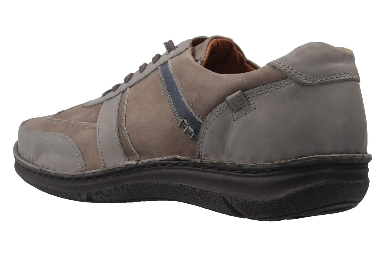 JOSEF SEIBEL - Herren Halbschuhe - Anvers 33 - Grau Schuhe in Übergrößen – Bild 2