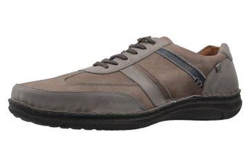 JOSEF SEIBEL - Herren Halbschuhe - Anvers 33 - Grau Schuhe in Übergrößen – Bild 1
