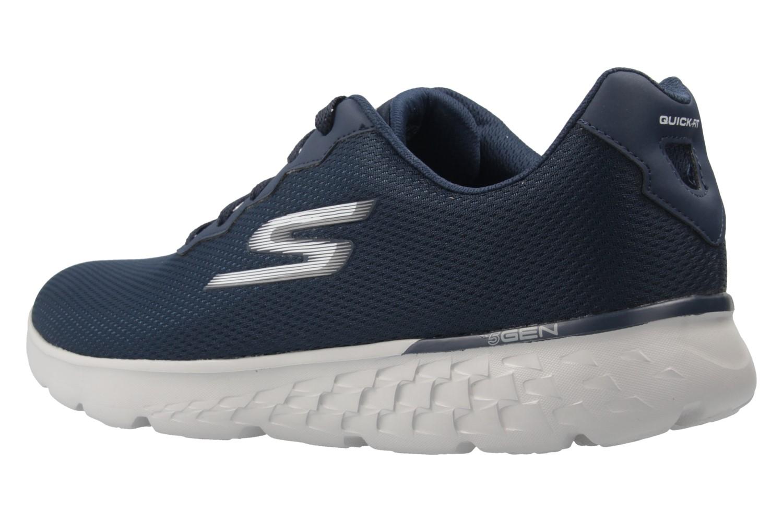 Skechers Sneaker in Übergrößen Blau 54351/NVGY große Herrenschuhe – Bild 2