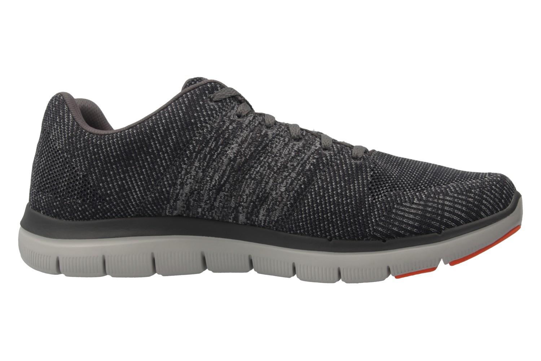 SKECHERS - Herren Sneaker - FLEX ADVANTAGE 2.0 MISSING LINK - Grau Schuhe in Übergrößen – Bild 4