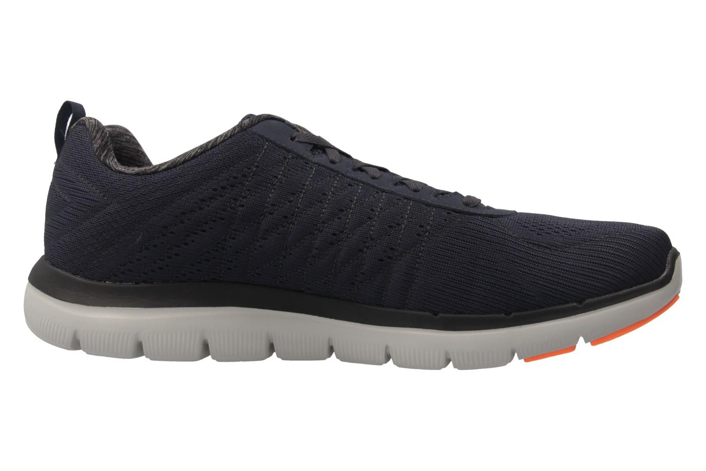 SKECHERS - Herren Sneaker - FLEX ADVANTAGE 2.0 THE HAPPS - Blau Schuhe in Übergrößen – Bild 4