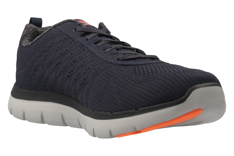 SKECHERS - Herren Sneaker - FLEX ADVANTAGE 2.0 THE HAPPS - Blau Schuhe in Übergrößen – Bild 5