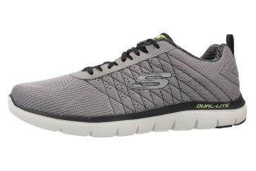 SKECHERS - Herren Sneaker - FLEX ADVANTAGE 2.0 THE HAPPS - Grau Schuhe in Übergrößen – Bild 1