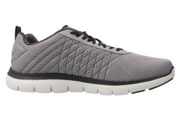 SKECHERS - Herren Sneaker - FLEX ADVANTAGE 2.0 THE HAPPS - Grau Schuhe in Übergrößen – Bild 4