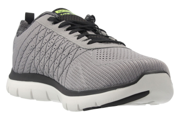 SKECHERS - Herren Sneaker - FLEX ADVANTAGE 2.0 THE HAPPS - Grau Schuhe in Übergrößen – Bild 5