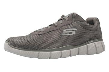 Skechers Sneaker in Übergrößen Grau 51539/CHAR große Herrenschuhe