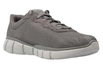 Skechers Sneaker in Übergrößen Grau 51539/CHAR große Herrenschuhe – Bild 5