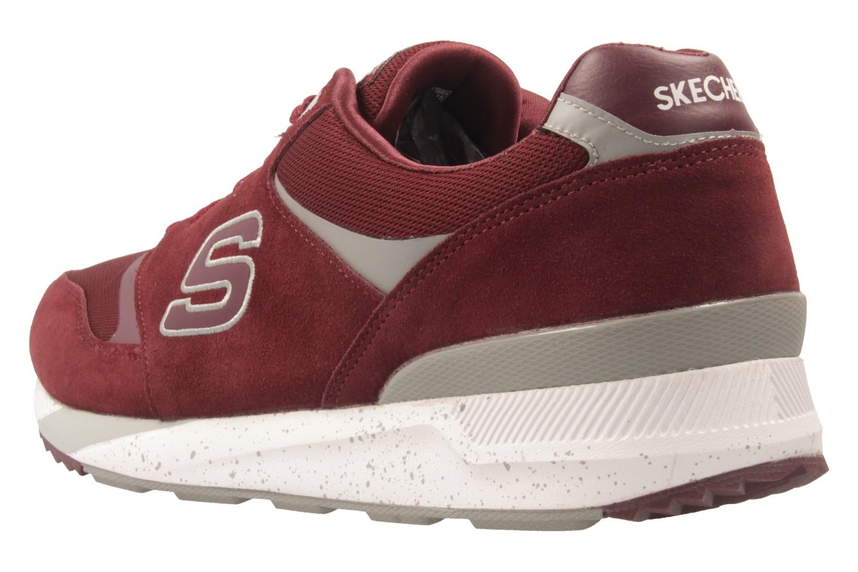 Skechers Sneaker in Übergrößen Rot 52350/BURG große Herrenschuhe – Bild 2