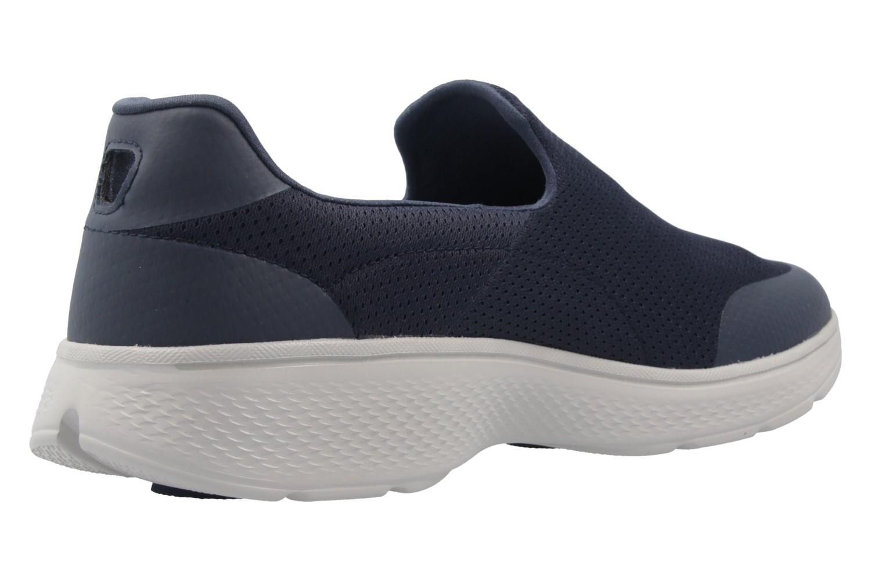 SKECHERS - Herren Slipper - GO WALK 4 INCREDIBLE - Blau Schuhe in Übergrößen – Bild 3