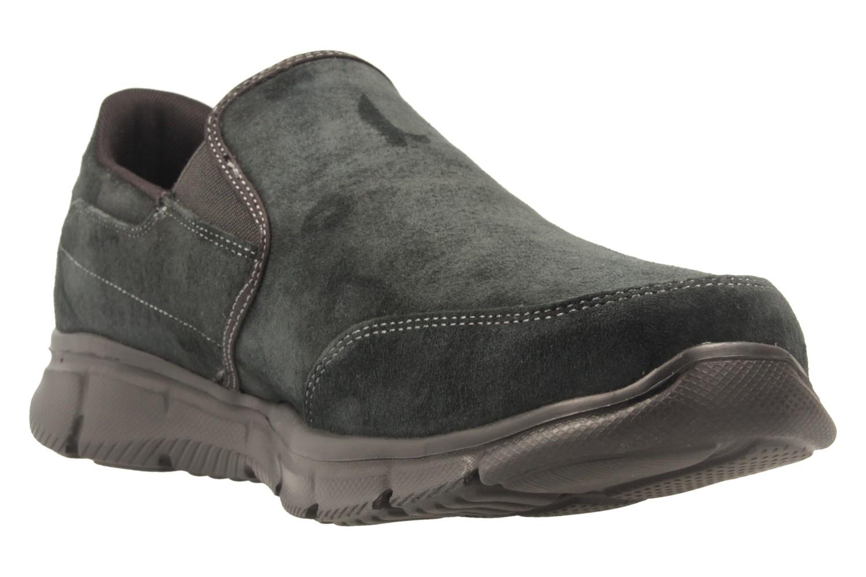 SKECHERS - Herren Slipper - EQUALIZER MIND GAME - Schwarz Schuhe in Übergrößen – Bild 5