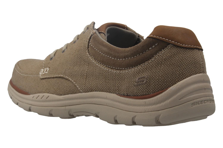SKECHERS - Herren Halbschuhe - EXPECTED ORMAN - Braun Schuhe in Übergrößen – Bild 2