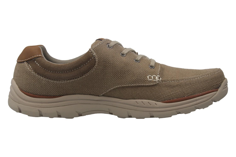 SKECHERS - Herren Halbschuhe - EXPECTED ORMAN - Braun Schuhe in Übergrößen – Bild 4