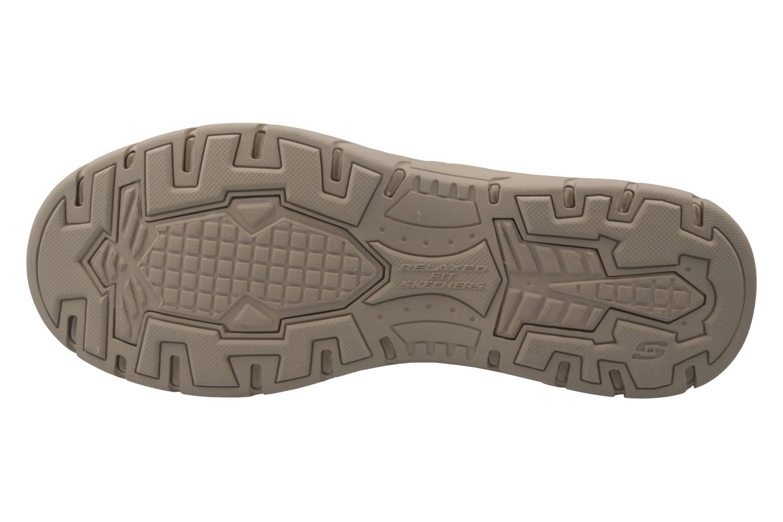 SKECHERS - Herren Halbschuhe - EXPECTED ORMAN - Braun Schuhe in Übergrößen – Bild 6