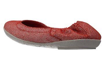 CAMEL ACTIVE - Damen Ballerinas - Bamboo - Rot Schuhe in Übergrößen – Bild 2