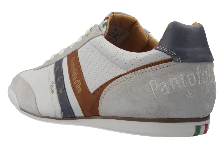 PANTOFOLA D'ORO - Herren Sneaker - VASTO UOMO LOW - Weiß Schuhe in Übergrößen – Bild 2