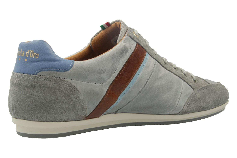 Pantofola d'Oro Sneaker in Übergrößen Grau 10171067.3JW große Herrenschuhe – Bild 3