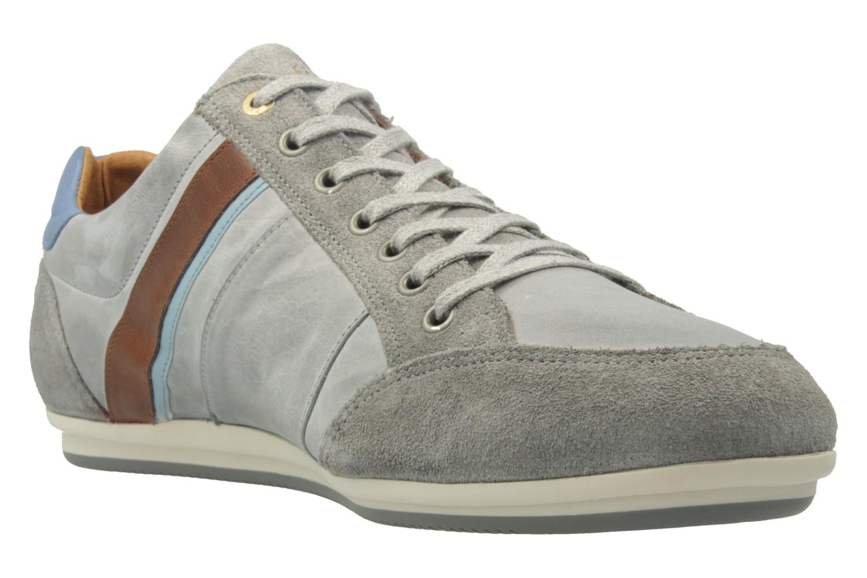 Pantofola d'Oro Sneaker in Übergrößen Grau 10171067.3JW große Herrenschuhe – Bild 5