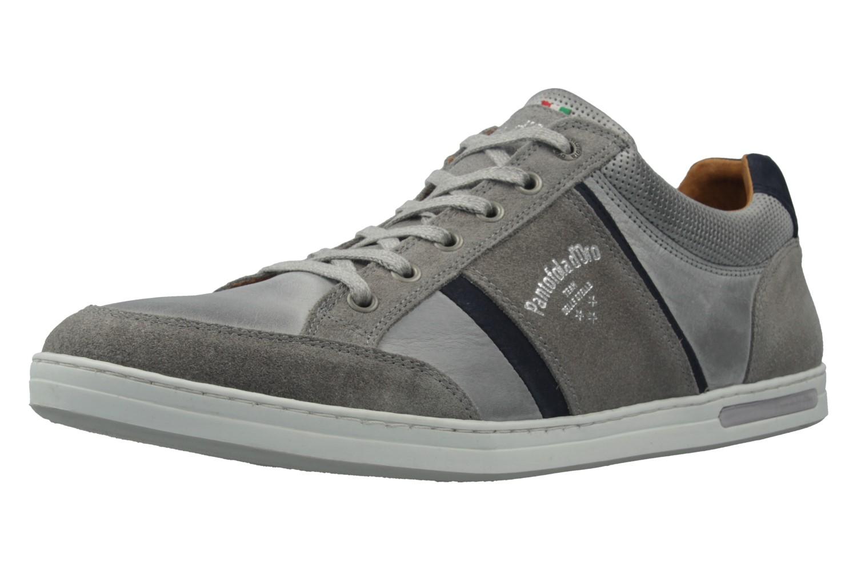 PANTOFOLA D'ORO - Herren Sneaker - MONDOVI UOMO LOW - Grau Schuhe in Übergrößen – Bild 1