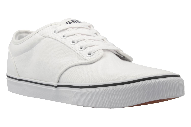 VANS - Herren Sneaker - ATWOOD - Weiß Schuhe in Übergrößen – Bild 5