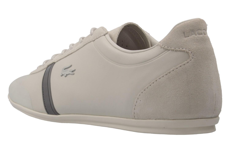 Lacoste Sneaker in Übergrößen Beige 7-33CAM1020098 große Herrenschuhe – Bild 2