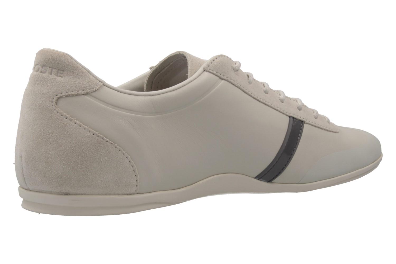 Lacoste Sneaker in Übergrößen Beige 7-33CAM1020098 große Herrenschuhe – Bild 3