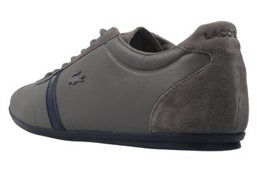 Lacoste Sneaker in Übergrößen Grau 7-33CAM1020248 große Herrenschuhe – Bild 2