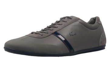 Lacoste Sneaker in Übergrößen Grau 7-33CAM1020248 große Herrenschuhe – Bild 1