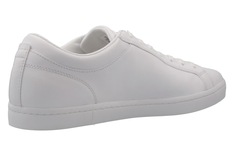 LACOSTE - Herren Sneaker - Straightset BL - Weiß Schuhe in Übergrößen – Bild 3