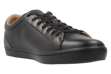LACOSTE - Herren Sneaker - Straightset 117 - Schwarz Schuhe in Übergrößen – Bild 5