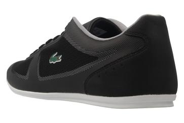 Lacoste Sneaker in Übergrößen Schwarz 7-33CAM1028024 große Herrenschuhe – Bild 2