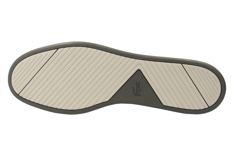 LACOSTE - Herren Slipper - Tombre - Khaki Schuhe in Übergrößen – Bild 6