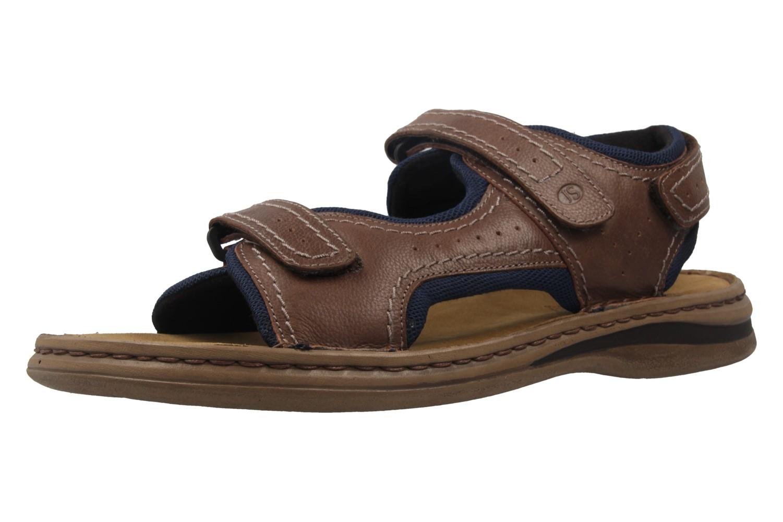 JOSEF SEIBEL - Herren Sandalen - Max 03 - Braun Schuhe in Übergrößen – Bild 1