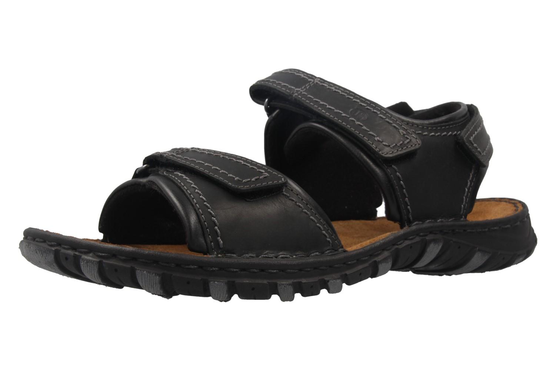 JOSEF SEIBEL - Herren Sandalen - Canim - Schwarz Schuhe in Übergrößen – Bild 1