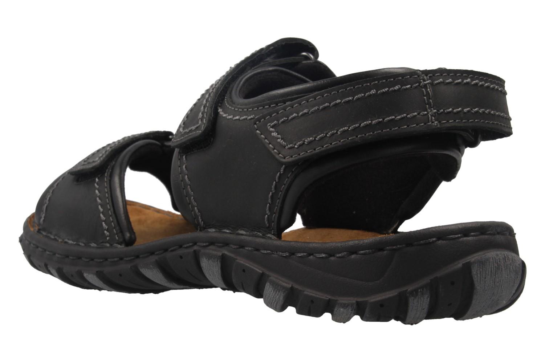 JOSEF SEIBEL - Herren Sandalen - Canim - Schwarz Schuhe in Übergrößen – Bild 2